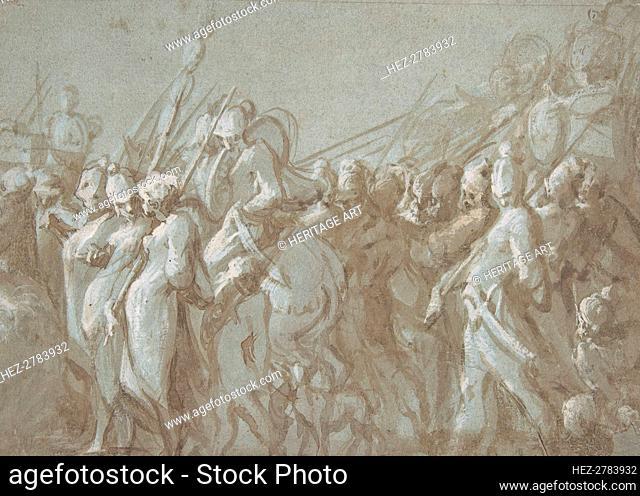 Military Procession, 16th century. Creator: Hans Mont