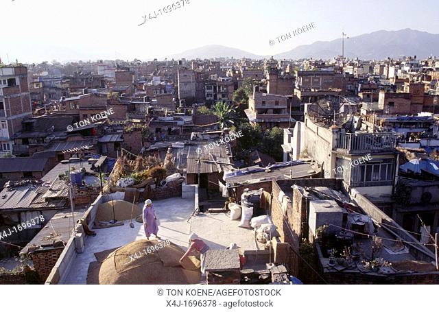City view of Katmandu centre