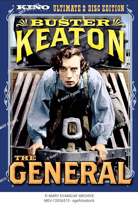 Buster Keaton Poster Characters: Johnny Gray Film: The General (USA 1926) / Stummfilm Director: Clyde Bruckman & Buster Keaton 31 December 1926