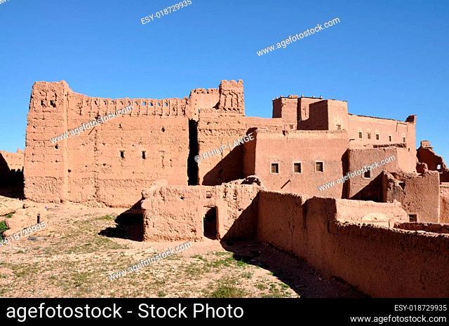 Kasbah Taouirt in Ouarzazate, Marokko