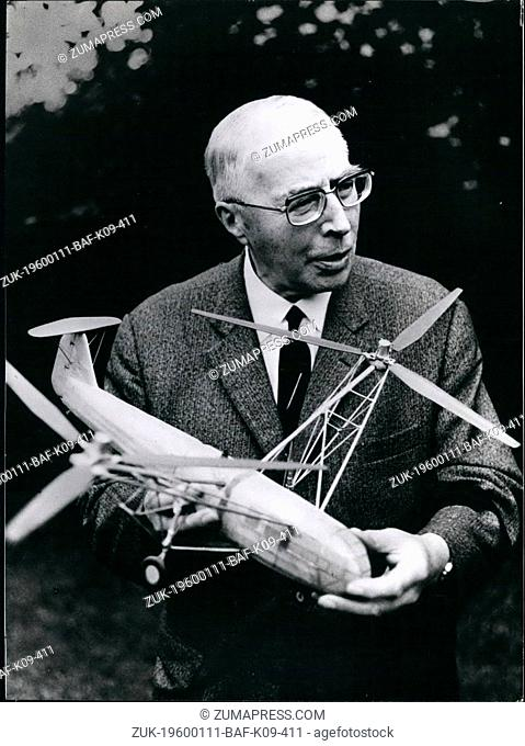 1975 - Airplane Designer Heinrich Focke Will be 85 On October 8TH The German airplane designer Heinrich Focke will become 85 on October 8th 1975