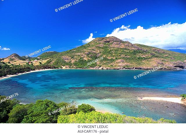 French Caribbean - Caribbean Islands - Les Saintes - Terre de Haut - Pompierre Bay - The Pierced Rock