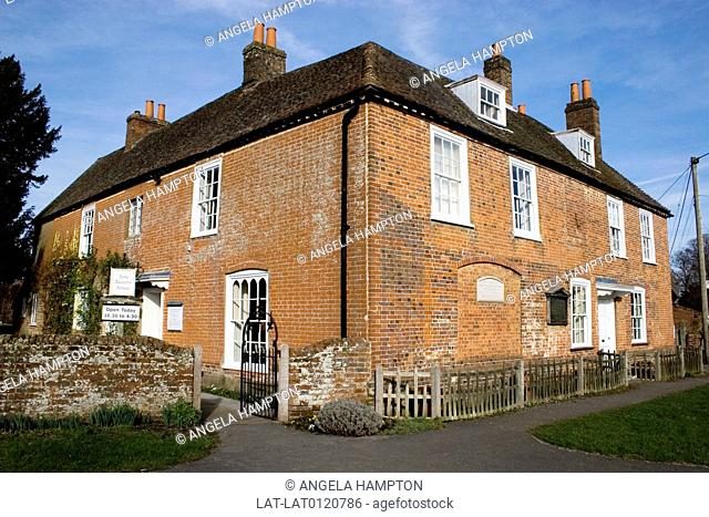 Historic house associated with the novelist Jane Austen is known worldwide for her popular novels describing the society of pre-industrial England