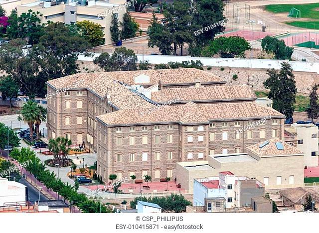 Building in Cartagena, Spain