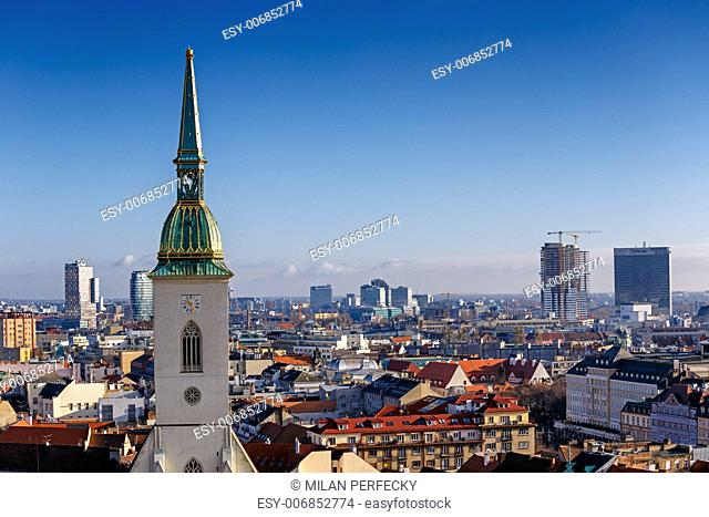 Bratislava, St. Martin's Cathedral, Bratislava, Slovakia