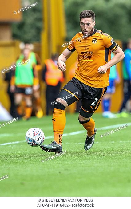 2017 EFL Championship Football Wolves v Cardiff City Aug 19th. 19th August 2017, Molineux, Wolverhampton, England; EFL Championship league football
