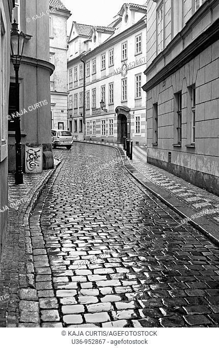 Old street, Prague, Czech Republic