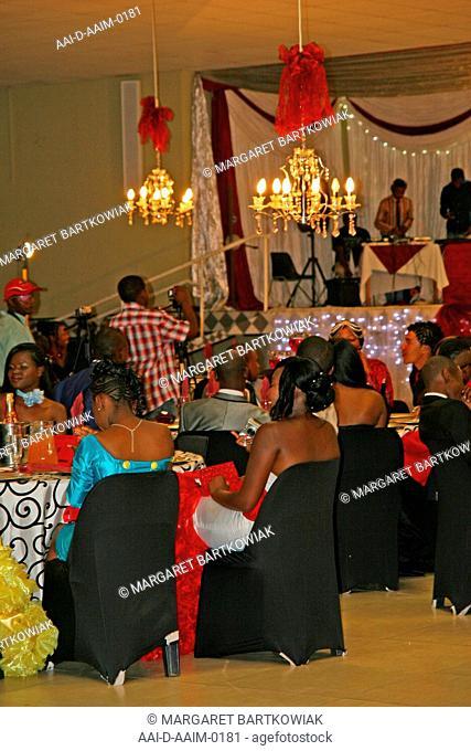 Matric farewell dance, St Mark's School, Mbabane, Hhohho, Kingdom of Swaziland