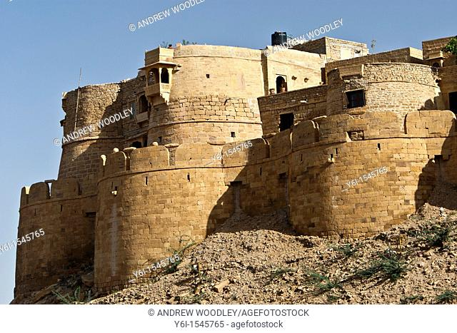 Historic Jaisalmer Fort Rajasthan India