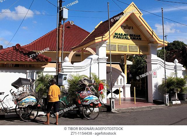 Indonesia, Java, Yogyakarta, Masjid Besar Pakualman mosque