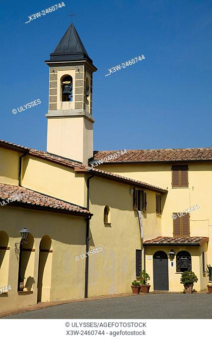 europe, italy, tuscany, frassine sanctuary