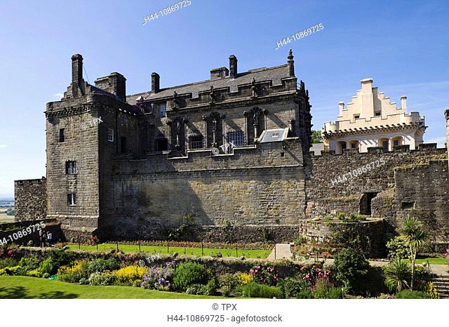Scotland, Central Region, Stirling, Stirling Castle