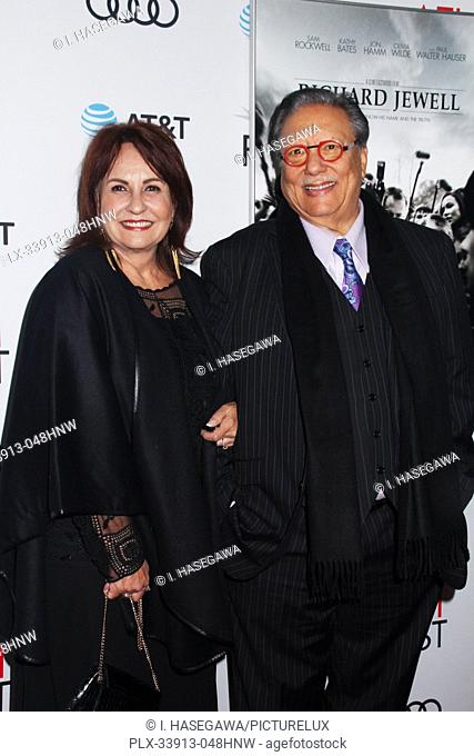 """Marianela Sandoval, Arturo Sandoval 11/20/2019 AFI Fest 2019 Gala Screening """"""""Richard Jewell"""""""" held at the TCL Chinese Theater in Los Angeles, CA"""
