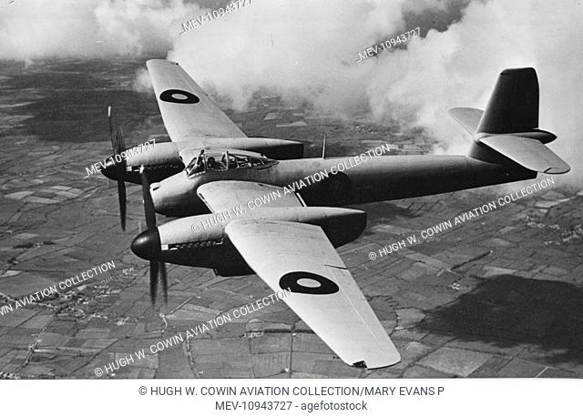 Westland Welkin I -designed as a high altitude interceptor First flown in November 1942, it entered service in May 1944 after the need for it had evaporated