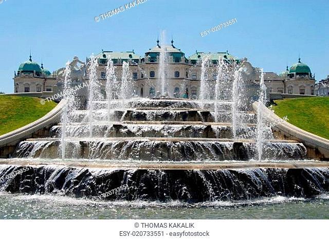 Schloß Belvedere in Wien
