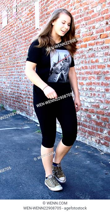 Celebrities arrive at the Dancing with the Stars rehearsal studio for week 3 of Season 21 Featuring: Bindi Irwin Where: Los Angeles, California