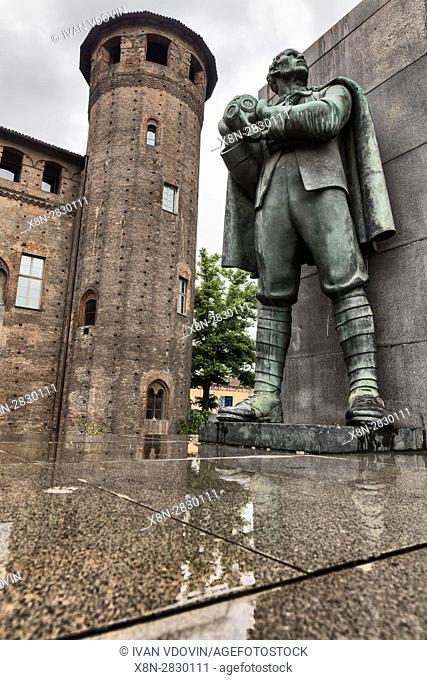 Emanuele Filiberto Duca d'Aosta Monument, Turin, Piedmont, Italy