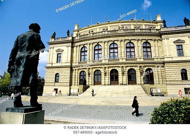 Music hall Rudolfinum. Prague. Czech Republic