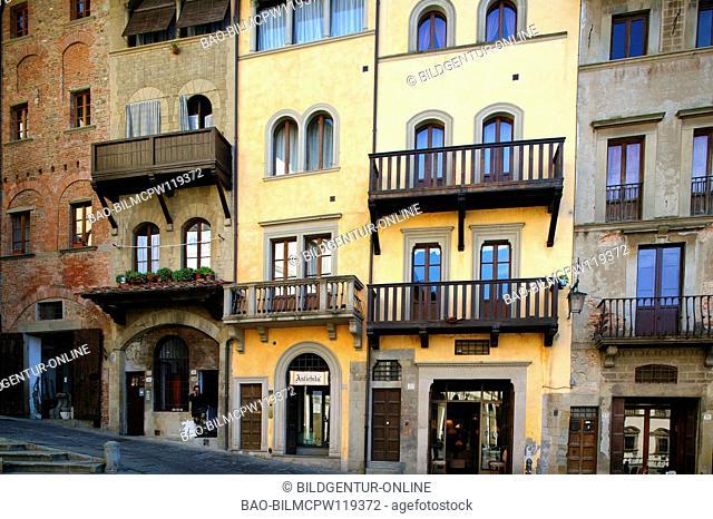 Italy Arezzo Piazza Grande