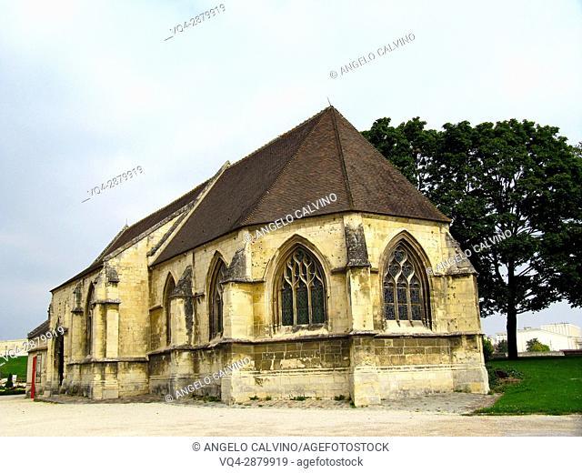Église Saint-Georges a Romanesque church in Caen, Normandy, .