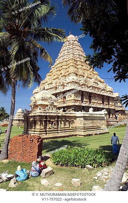Brihadishwara temple in Gangaikondacholapuram, Tamil Nadu, India