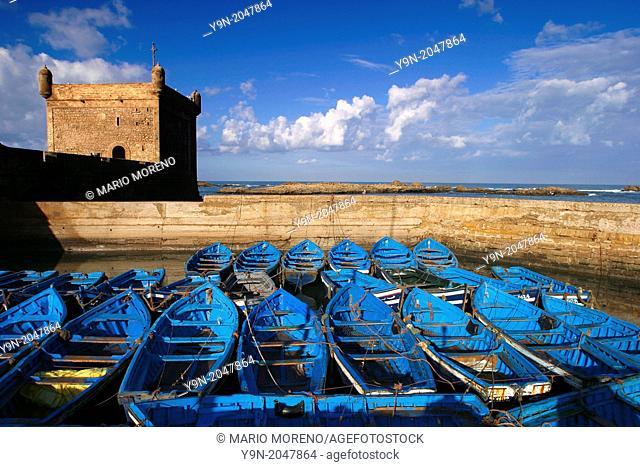 Essaouira Port Morocco