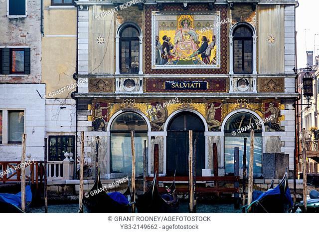 Palazzo Salviati On The Grand Canal, Venice, Italy