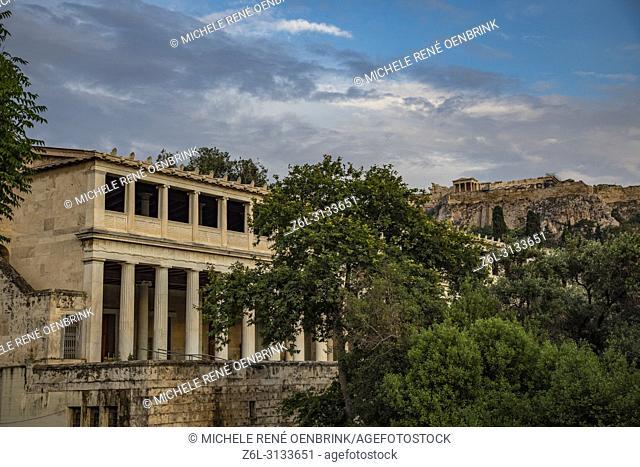 Tiedosto: Stoa of Attalus, Ancient Agora of Athens, Athens Greece