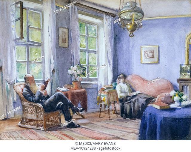 Interior, My Parents at Gotha, 1906'