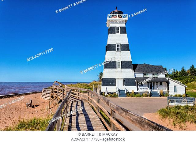 West Point Lighthouse, Prince Edward Island, Canada