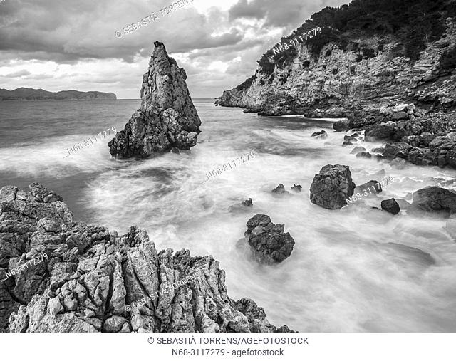 Es Niu de s'Aguila, Alcudia coast, Mallorca, Spain