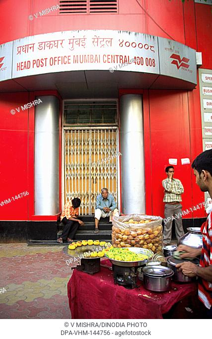 Head post office at Sadashiv Mahadev Salve chowk ; J. Boman Behram road ; Bombay now Mumbai ; Maharashtra ; India