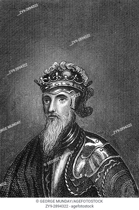 Edward III (1312 - 1377) was King of England from 25 January 1327 until his death. He is noted for his military success and for restoring royal authority after...