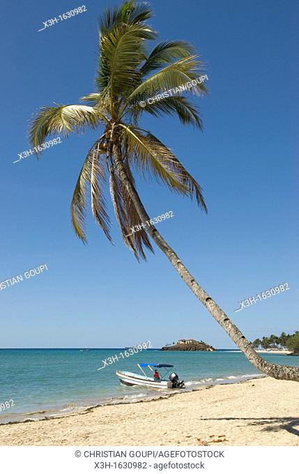 Andilana beach in the north-west part of Nosy Be island, Republic of Madagascar, Indian Ocean