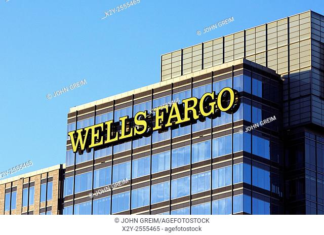 Wells fargo Bank corporate office, Atlanta, Georgia, USA