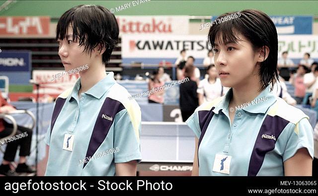 Doona Bae & Ji-Won Ha Characters: Li Bun Hui , Hyun Jung Hwa Film: As One (2012) Director: Wyeon-Seong Moon 16 April 2012