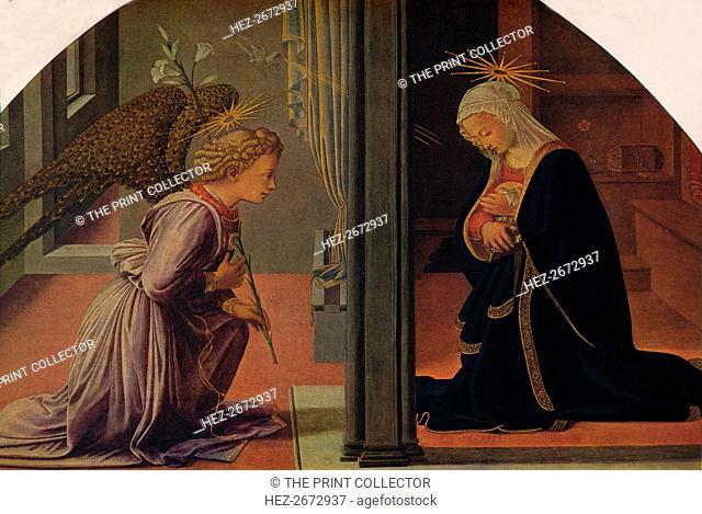 'The Annunciation', c1435-1440. Artist: Filippo Lippi