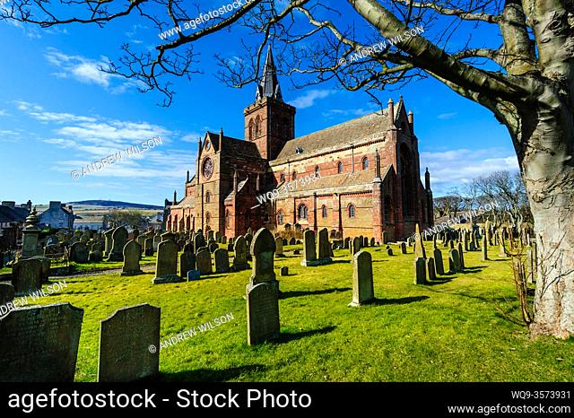 St Magnus Cathedral - Britain's most northerly Cathedral