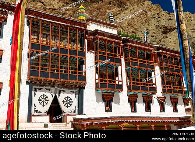 Hemis Gompa is a big Buddhist monastery in the Central Ladakh and the most important of the monasteries belonging to the Tibetan Buddhism Drukpa lineage