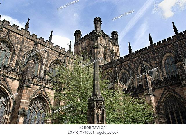 England, Cheshire, Chester, Chester Cathedral, established as a monastery in 1092, it was handed back as a cathedral by King Henry Vlll in 1541 after the...