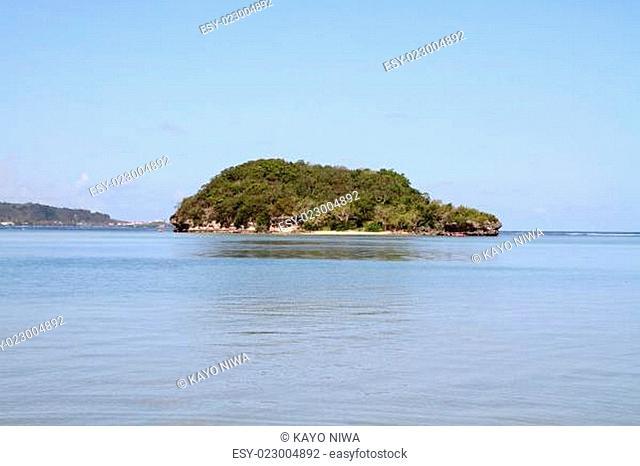 Alpat island in Guam