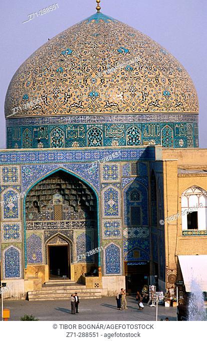 Sheykh Lotfollah Mosque. Emam Khomeini Square. Esfahan. Iran