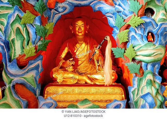 Buddha,Qinghai,China,Buddha Statues,Buddhism,Gompa