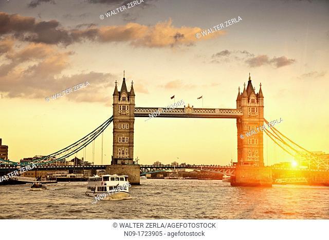 UK, England, London, Tower Bridge
