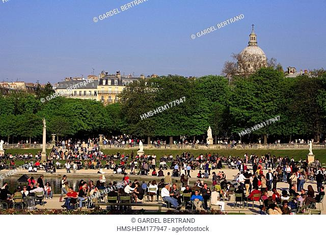 France, Paris, Luxembourg gardens