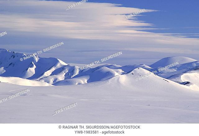 Wintertime, Landmannalaugar, Iceland