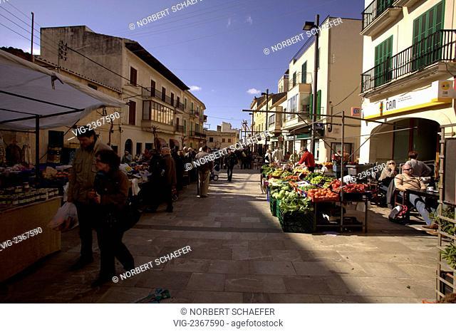 Santanyi Market, Majorca, Spain. - Santanyi, Majorca, SPAIN, 01/01/2011