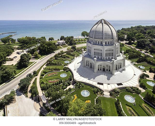 Bahá'í House of Worship, Wilmette, Illinois, USA
