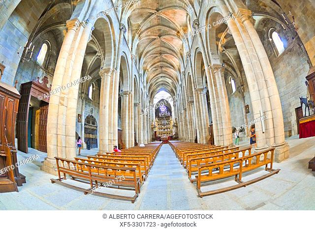 Orense Cathedral, 13th Century Romanesque-Gothic Style, Good of Cultural Interest, Historic-Artistic Monument, Orense, Galicia, Spain, Europe