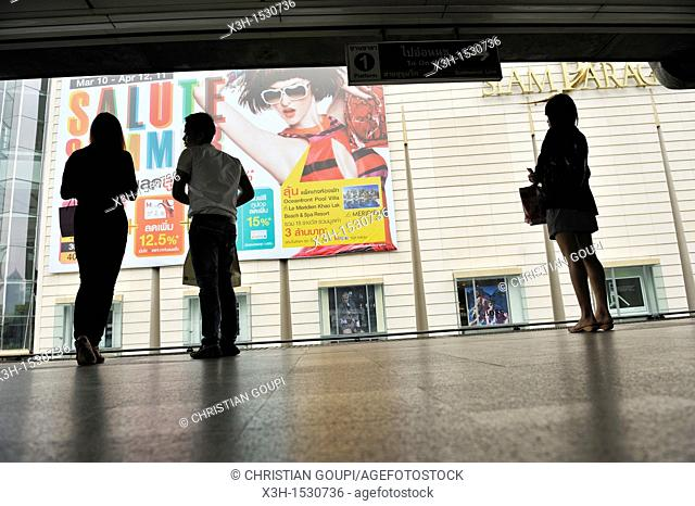 BTS Skytrain Bangkok, Thailand, Asia